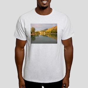 Moorea Sunset 2 Ash Grey T-Shirt