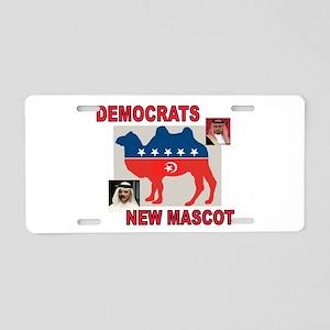 DEMOCRAT CAMEL LOGO Aluminum License Plate