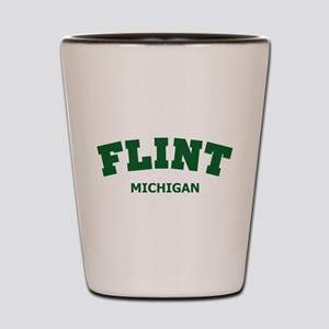 Flint Varsity Shot Glass