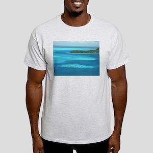 Blue Waters Ash Grey T-Shirt