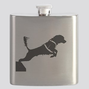 Portuguese Water Dog Jump Flask