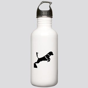 Portuguese Water Dog Jump Stainless Water Bottle 1