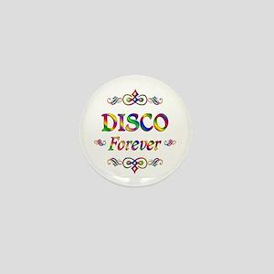 Disco Forever Mini Button