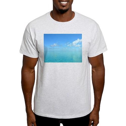 Blue Waters 2 Ash Grey T-Shirt