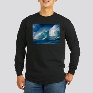 Ocean Long Sleeve Dark T-Shirt