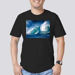 Ocean Men's Fitted T-Shirt (dark)