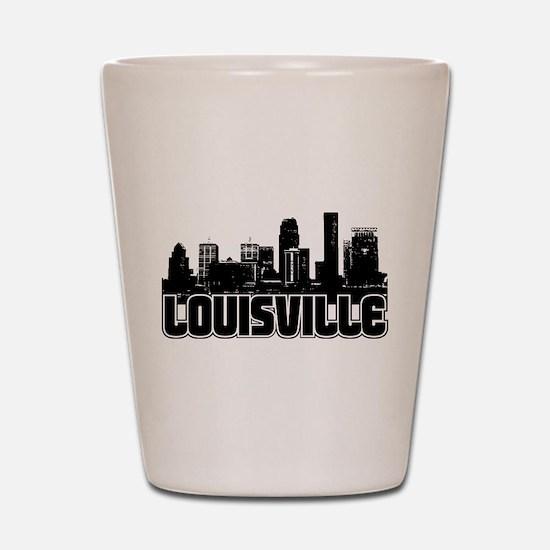 Louisville Skyline Shot Glass