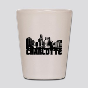 Charlotte Skyline Shot Glass
