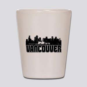 Vancouver Skyline Shot Glass