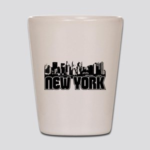 New York Skyline Shot Glass