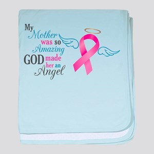 My Mother An Angel - baby blanket
