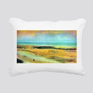 Edgar Degas Beach At Low Tide Rectangular Canvas P
