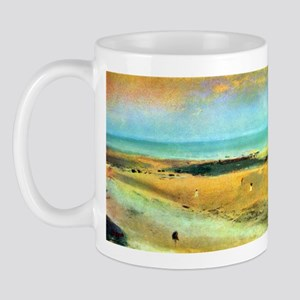 Edgar Degas Beach At Low Tide Mug