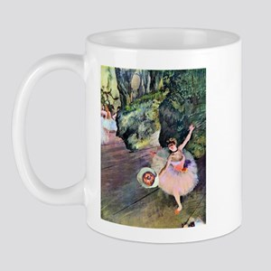 Edgar Degas Dancer With Flowers Mug