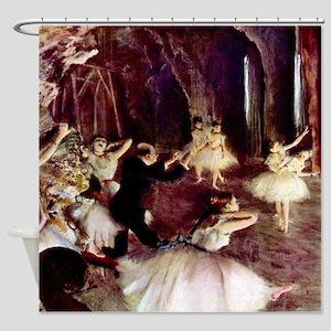 Edgar Degas Stage Trial Shower Curtain