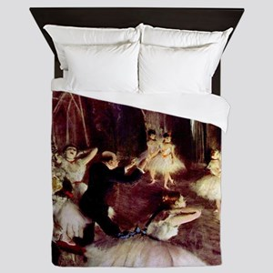 Edgar Degas Stage Trial Queen Duvet
