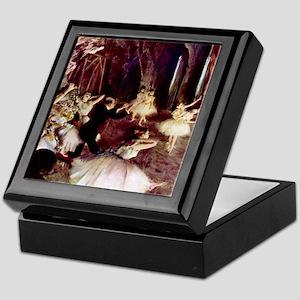 Edgar Degas Stage Trial Keepsake Box