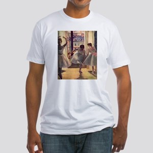 Edgar Degas Three Dancers Fitted T-Shirt