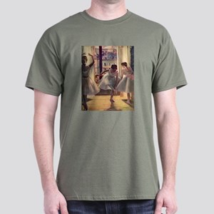 Edgar Degas Three Dancers Dark T-Shirt