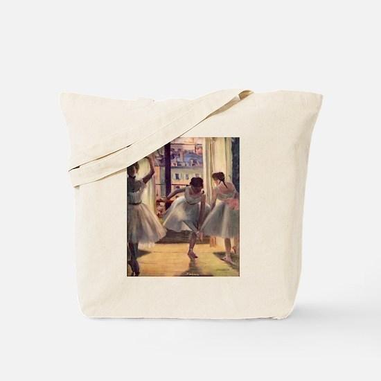 Edgar Degas Three Dancers Tote Bag