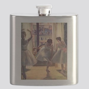 Edgar Degas Three Dancers Flask