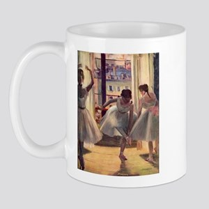 Edgar Degas Three Dancers Mug