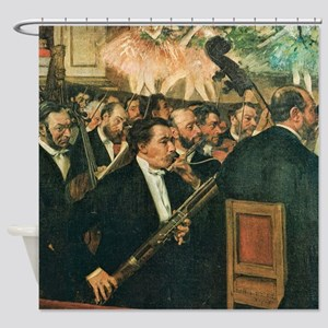 Edgar Degas The Orchestra of the Opera Shower Curt