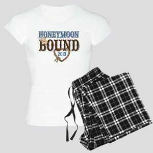 Honeymoon Bound 2013 Women's Light Pajamas