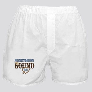 Honeymoon Bound 2013 Boxer Shorts