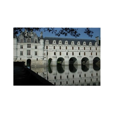 Chenonceau Rectangle Magnet (10 pack)