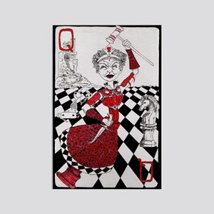The Red Queen Rectangle Magnet