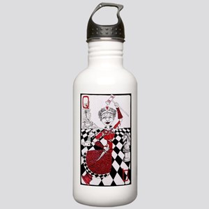 The Red Queen Stainless Water Bottle 1.0L
