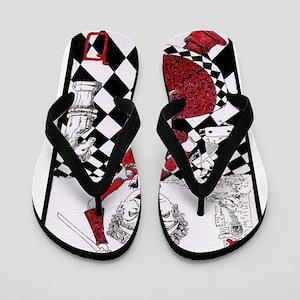 The Red Queen Flip Flops