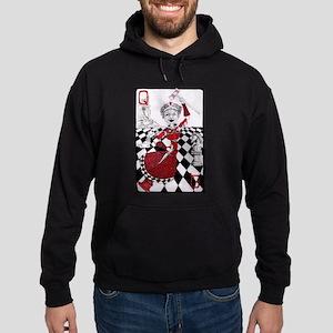 The Red Queen Hoodie (dark)