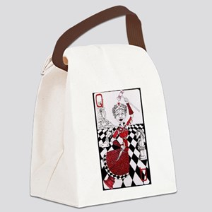 The Red Queen Canvas Lunch Bag