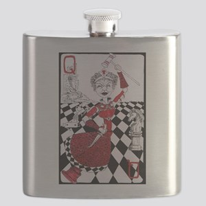 The Red Queen Flask