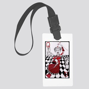The Red Queen Large Luggage Tag