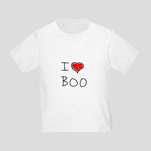 i love boo Toddler T-Shirt