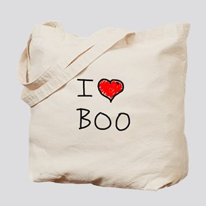 i love boo Tote Bag