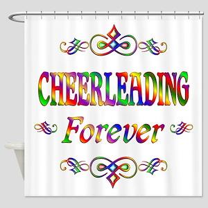Cheerleading Forever Shower Curtain