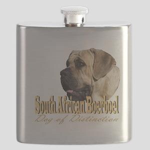 South African Boerboel Distinction Flask