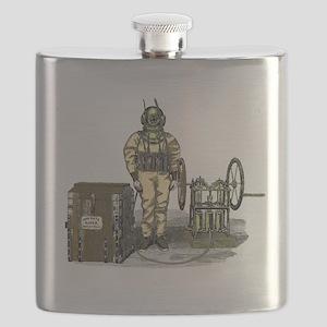 John Date Diving Dress Flask