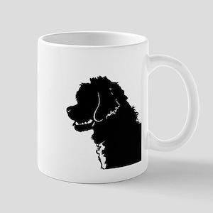 Portuguese Water Dog Head Mug
