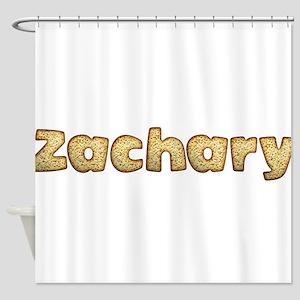 Zachary Toasted Shower Curtain