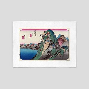 Hakone - Hiroshige Ando - 1833 - woodcut 5'x7'Area