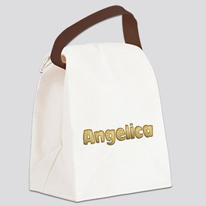 Angelica Toasted Canvas Lunch Bag