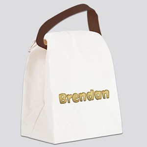 Brendan Toasted Canvas Lunch Bag