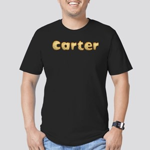 carter Toasted Men's Fitted T-Shirt (dark)