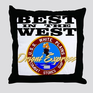 Best In The West! Throw Pillow