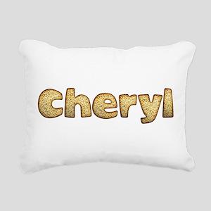 Cheryl Toasted Rectangular Canvas Pillow